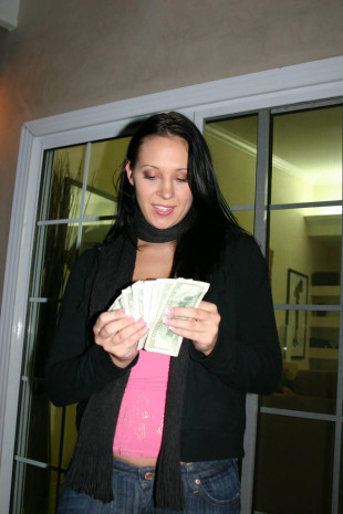 She got load of cash